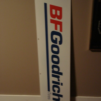 VINTAGE TIRE ADVERTISING SIGNS BF GOODRICH/MICHELIN/GOOD YEAR! - Signs