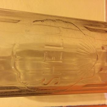 Shell-Penn Motor Oil Glass Bottle