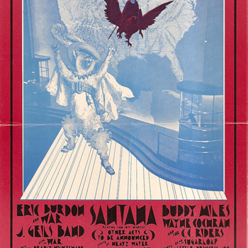 The San Francisco music scene, spring of 1971 - Posters and Prints
