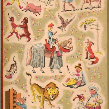 "1949 - ""Childcraft"" Illustrations by Milo Winter - Books"