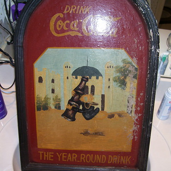 Unusual Coca Cola sign - Coca-Cola