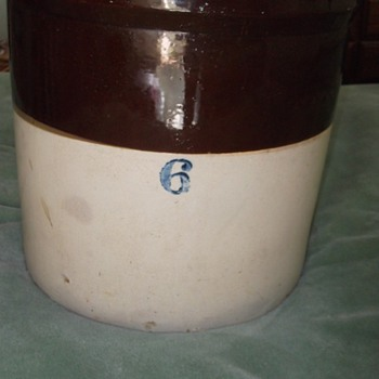 Large Ceramic Crock
