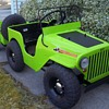 1947 Thistle Jeep and Bantam trailer