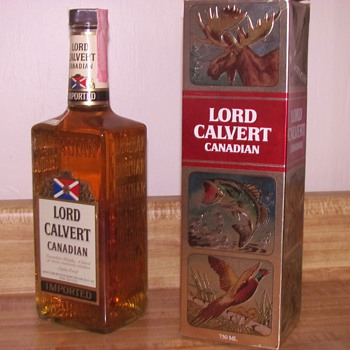 Lord Calvert Canadian with Gift Box