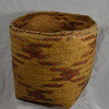 Large Native Storage Basket with Authentic Designs