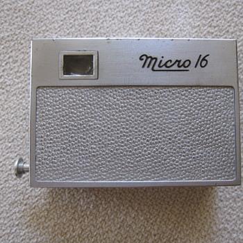 1946 Micro 16 Sub Mini Spy Camera - Cameras