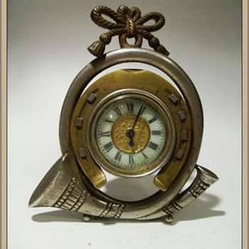 My other 19th Century Clock - Brass - Clocks