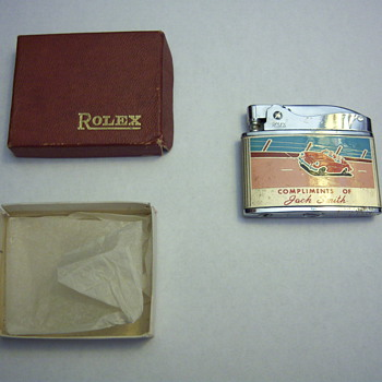Rolex lighter- needs wick