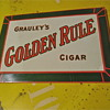 Grauley's Golden Rule Cigar and Friends Tobacco Signs