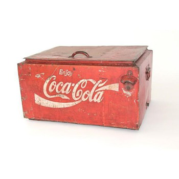 Strange Coca cola and Pepsi cooler