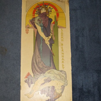 Alphonse Maria Mucha Medee Poster Art Nouveau Original? Lithograph?
