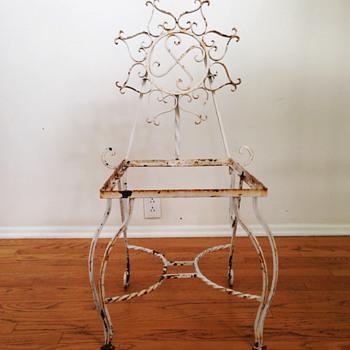 Art Deco Garden Chairs - Furniture