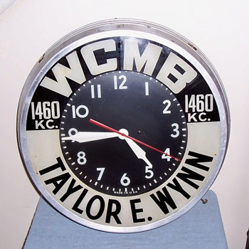 Some more of my vintage advertising clocks