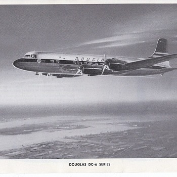 Douglas Aircraft Series DC-6 and and DC-7C