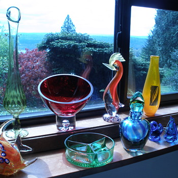 My weekend finds. - Art Glass