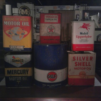 Oil Can Family Photo