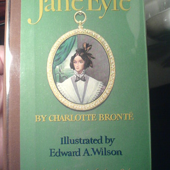 "One of my favourite old books, American Edition,well-known novel ""Jane Eyre"", by Charlotte Brontë..."