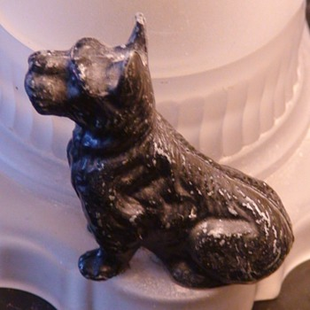 Scottie Dog Lamp Art Deco - Lamps