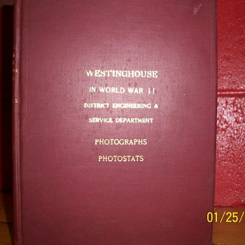 Westinghouse In world war 2 district engineering & service department Photographs & Photostats