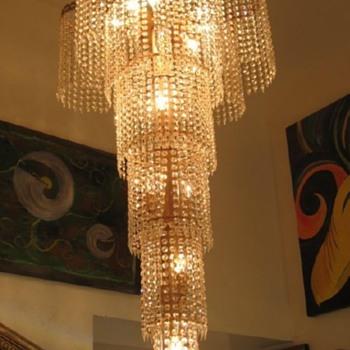 Mid-Century Chandelier - Lamps