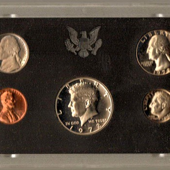 1972 S - U.S. Proof Coins Set - US Coins