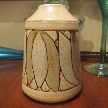 Pretty Studio Vase - Art Pottery