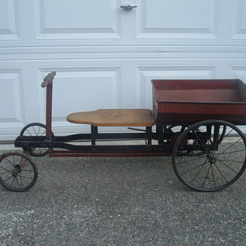 Irish mail rowing cycle pedal car