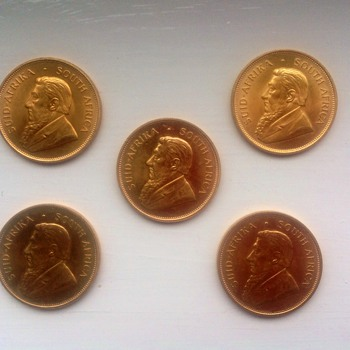 Gold coins - Gold