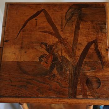 Beautiful Wood Inlay Table