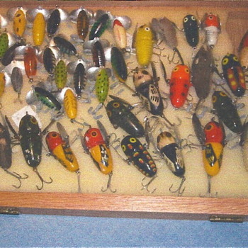 Some Crazy Crawlers and some older Jitterbugs from my collection - Fishing