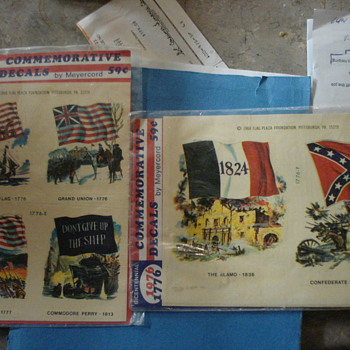 1968 War/Confederate decals