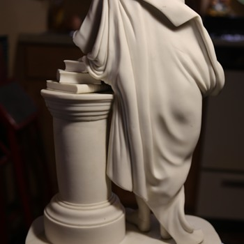 Parian Figure Who Needs a Hand... - Art Pottery