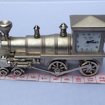 Vintage train clock