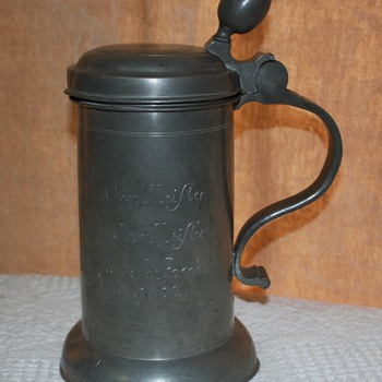 1802 GERMAN BEER STEIN