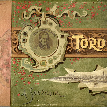 1891 Souvenir Photo Book of  Toronto