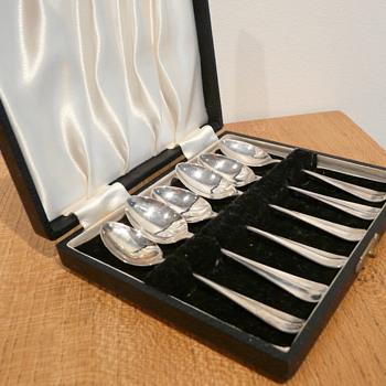 EMILE VI(E)NER TEASPOONS 1930 - Sterling Silver
