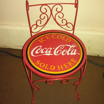 Coca Cola chair