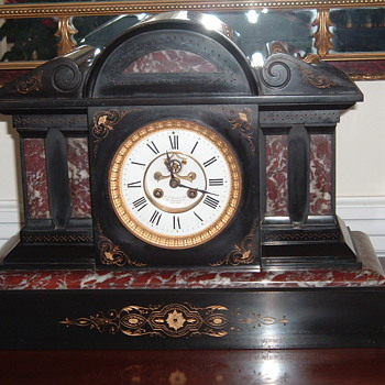 Marble Clock - Clocks