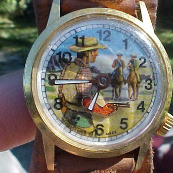 Cowboy Watch Titled &quot;Gun Slinger&quot; - Wristwatches