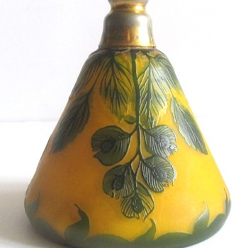 LOETZ RICHARD PERFUME BOTTLE . . . WITH STOPPER! - Art Nouveau