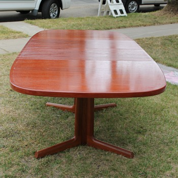 Danish M-M Dining Table - Mid Century Modern