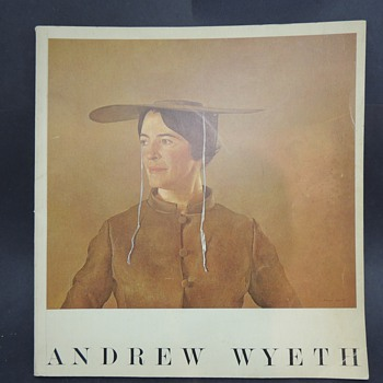 Andrew Wyeth 1966 Pennsylvania Academy of Fine Arts Abercrombie and Fitch Book - Books