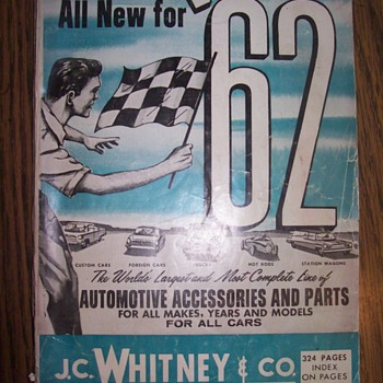 J.C. Whitney for 62 - Books