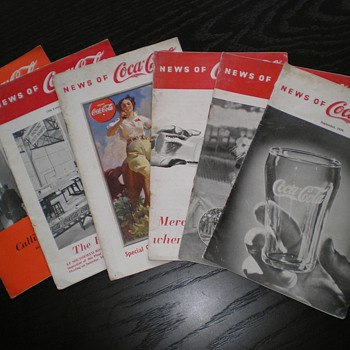More Early London England Coca-Cola Items