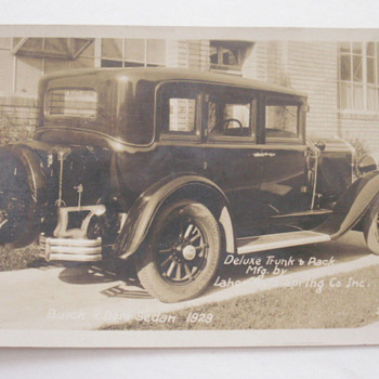 1929 Buick Postcard