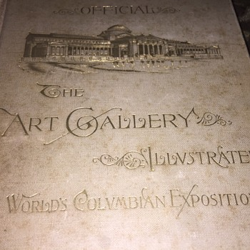 1893 World Colombian Art Gallery Book