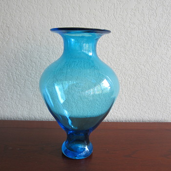 Mystery Hand Blown Glass Vase