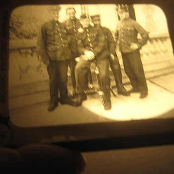 Majic Lantern Slides - Military and Wartime