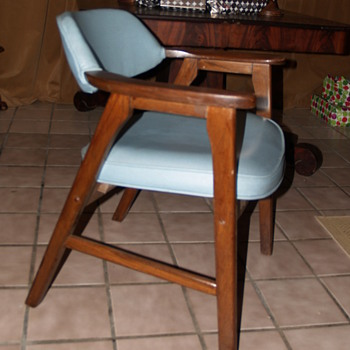 Can someone tell me anything about this chair?