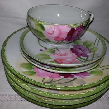 Vintage Hand Painted Nippon TE-OH... - China and Dinnerware